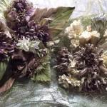 ニゲラ風のアレンジ花束